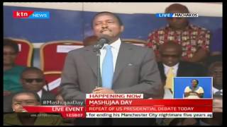 This is where Raila Odinga had travelled to during Mashujaa Day