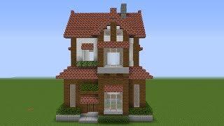 Minecraft: How to Build a Suburban House Tutorial (2019)