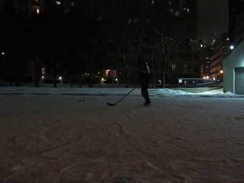 Skating(Hockey) - Part 8 - Backward Crossovers (Quick Feet) In Both Directions