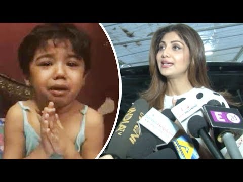Shilpa Shetty REACTS On Sharib Toshi's Niece Viral Harrasment Video