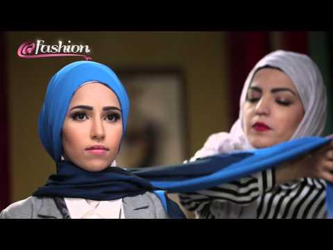 Easy & Elegant Hijab Style ُTutorial for work & university