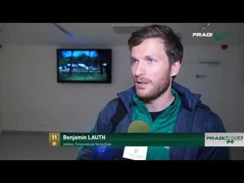 Benjamin Lauth interjú a Loki meccsről és a Magyar Kupáról