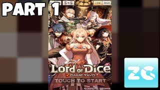 "Lord of Dice Android IOS Walkthrough Part 1 Gameplay HDDownloadGoogle Play : https://play.google.com/store/apps/details?id=com.ciousya.lordofdiceApp Store : https://itunes.apple.com/ph/app/lord-of-dice/id1229583388?mt=8Why we are the best?The most intense action mobile gameVarious attacks that sure will get the victory you wantThe most enchanting, most beautiful, most powerful characters in all RPGThe most frightening opponents/monsters that you will face in every battleDo you have what it takes to be the LORD OF DICE?BOARD BATTLEVarious attacks to certainly get the victory you want.Your own strategies. Your rules. Your battle.DICE BATTLEDice battle occurs when the player landed to one of the board that requires to surrender your dice to compete with your enemies. You choose what dice you want to fight and win the dice battle.Your strategies will determined your victoryAVATARS TO MASTER CHARACTERSSkills changes as you change your avatar. You have variety of avatars to choose according to your preference.TRANSCENDENCE FACTOR TO UNLEASH YOUR CHARACTEREvery Dicers evolves the power and looks into incredible characters. With transcendental appearance and gorgeousness when it is greatly increased strength achieved through upgrading the character! Let's unleash the power beyond the limits!ENJOY MULTI MODE WITH YOUR FRIENDSPlayers can join and enjoy ""RAID"",""ARENA"" & ""LEAGUE"" Battle. Show us how you defeat all your opponents! Let's do various battle stages among your friends!"