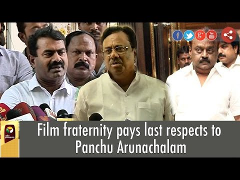 Film-fraternity-pays-last-respects-to-Panchu-Arunachalam-Full-Details