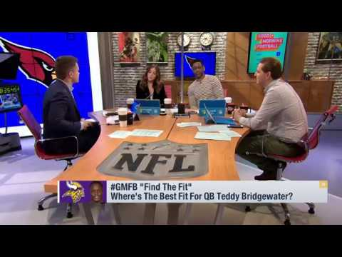 Teddy Bridgewater's Tom Brady like composure makes him a fit with Patriots | Mar 13, 2018
