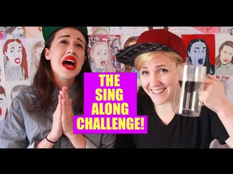 Along - Today i did the sing along challenge with hannah hart! i hope u lick it. we challenge u to try this challenge at home with ur friends. watch our video on han...