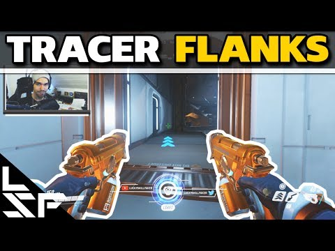 TRACER FLANK ROUTES ON WATCHPOINT: GIBRALTAR - Overwatch Tips #5