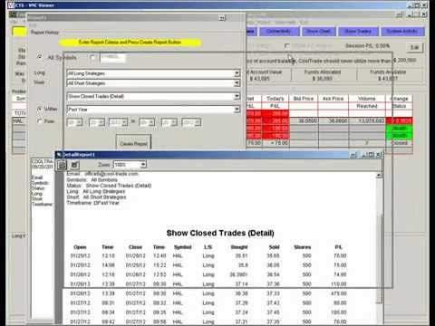 Best Day Trading Software- Cool Trader Pro- Halliburton Long Strategy