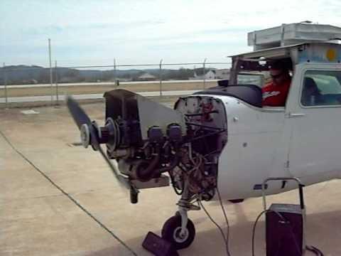 Cessna 172 First Run up after overhaul O-320