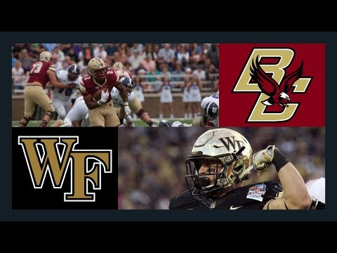 CFB: Boston College @ Wake Forest