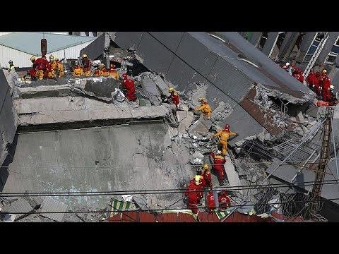 Ταϊβάν σεισμός: Ώρες αγωνίας στα ερείπια – 38 οι νεκροί – 110 οι αγνοούμενοι