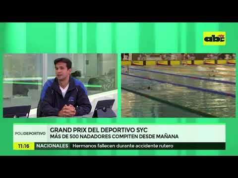 Cuarto Grand Prix de natación se pone en marcha en el CAN
