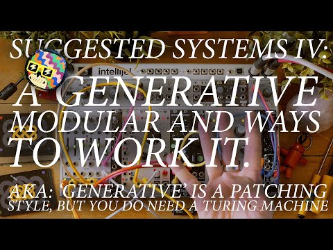 Generative Modular Music With A Eurorack System