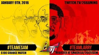 Who said Smash 4 isn't ready for Salty Suites? – ESAM Vs Larry $100 Grudge Match