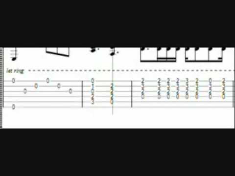 Metallica – Nothing Else Matters Tabs