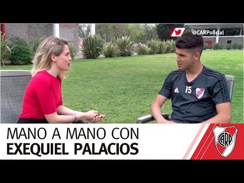 Mano a mano con Exequiel Palacios