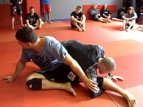 Frank Mir How To Counter to the Triangle Escape