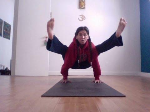 yoga firefly arm balance instruction (titibasana) – shana meyerson YOGAthletica :)