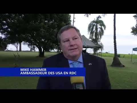 MIKE HAMMER ANNONCE LE SOUTIENT DE SON PAYS POUR LA PACIFICATION DE L'EST DE LA RDC
