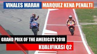 Video MotoGP America 2018 | Qualification 2 (Q2) | Vinales Angry, Marques Got Penalty MP3, 3GP, MP4, WEBM, AVI, FLV April 2018