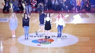 Download Lagu 160327 레드벨벳 (Red Velvet) Dumb Dumb [전체] 직캠 Fancam (희망농구올스타) by Mera Mp3