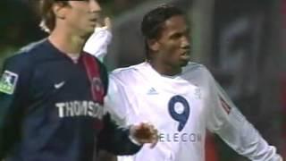 OM 0-1 PSG (15ème Journée de Ligue 1 2003-2004)