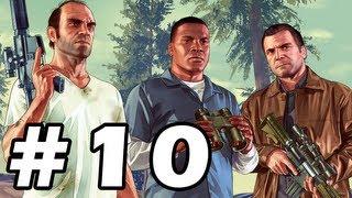 Grand Theft Auto 5 Gameplay Walkthrough Part 10 - GTA 5