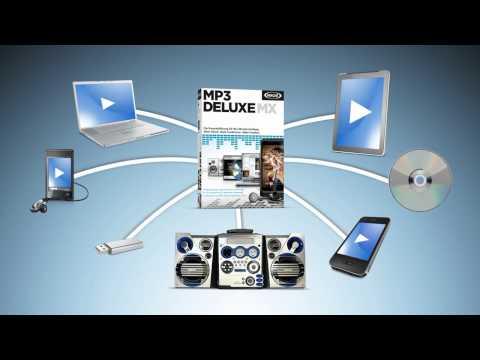 MP3-Software mit komfortabelsten Funktionen - MAGIX  MP3 deluxe MX (DE)