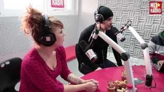 PRESENTATION D'AMINE AUB DANS LE MORNING DE MOMO SUR HIT RADIO - 07/01/14