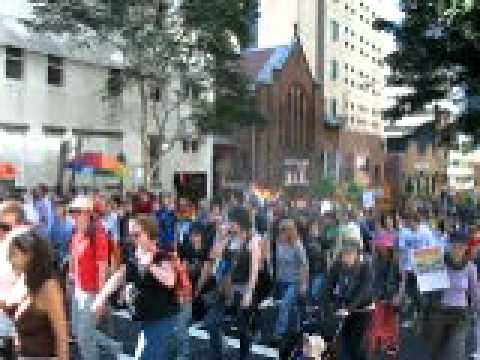 Equal Love Equal Rights - People came out to Brisbane August 14 to celebrate and rally for equal love rights for/with the queer community.