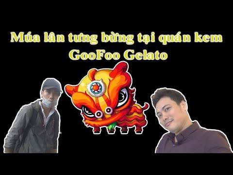 Coi Múa Lân Tại Quán Kem GooFoo Gelato | 360hot Vlogs