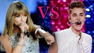 Taylor Swift V. Justin Bieber - Victoria's Secret Fashion Show Performances