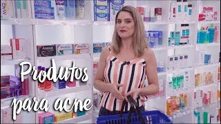 Produtos para tratar acne