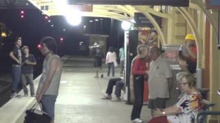 Goulburn Australia  City pictures : Goulburn railway station by night, NSW, Australia