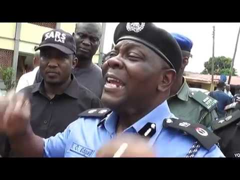 BREAKING NEWS NIGERIA POLICE FORCE PARADES  SUSPECTS AND OTHERS