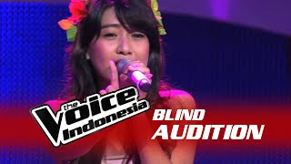 "Video Vanessa Axelia ""Halo"" I The Blind Audition I The Voice Indonesia 2016 MP3, 3GP, MP4, WEBM, AVI, FLV Oktober 2018"