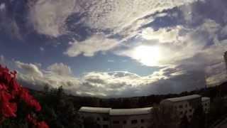 Timelapse/ Zeitraffer Wolken über Bautzen