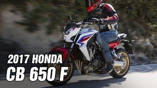 9. 2017 Honda CB650F Spec