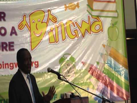 Government Spokesman Muthui Kariuki Giving a Speech