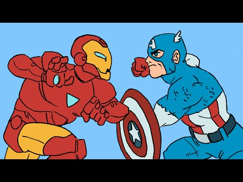 Marvel's Civil War Explained In Animation