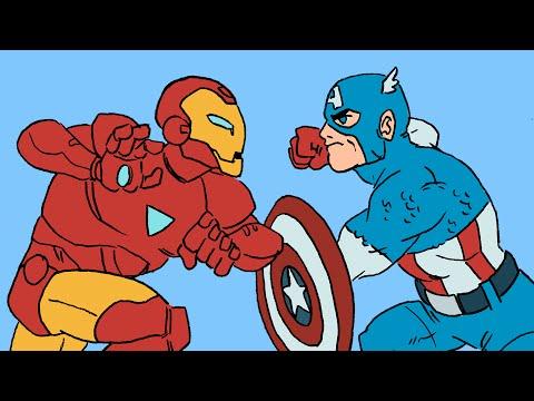 Marvel s Civil War Summarized in 4 Minutes