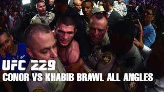 Video Conor McGregor vs Khabib Team Brawl After UFC 229 from different angles. MP3, 3GP, MP4, WEBM, AVI, FLV Desember 2018