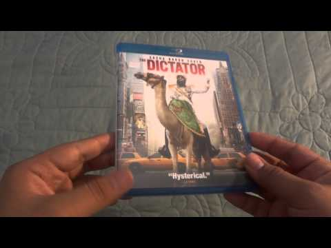 The Dictator Unboxing (Blu-Ray)