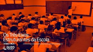 Vídeo #04 - Os Três Eixos Estruturantes da Escola - Educação