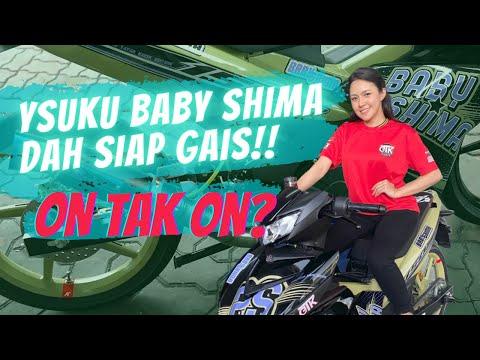 Akhirnya motor YSUKU Baby Shima dah siap!!