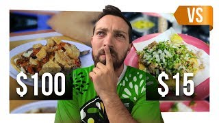 Video TACO DE $100 VS TACO DE $15 MP3, 3GP, MP4, WEBM, AVI, FLV Agustus 2018