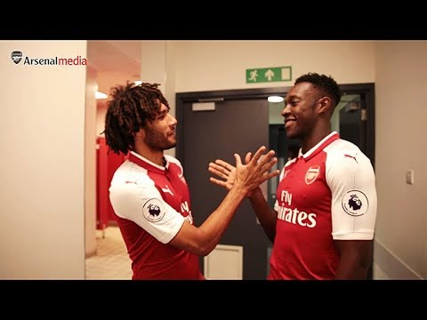 Welbeck and Elneny's new handshake | Members' Day 2017