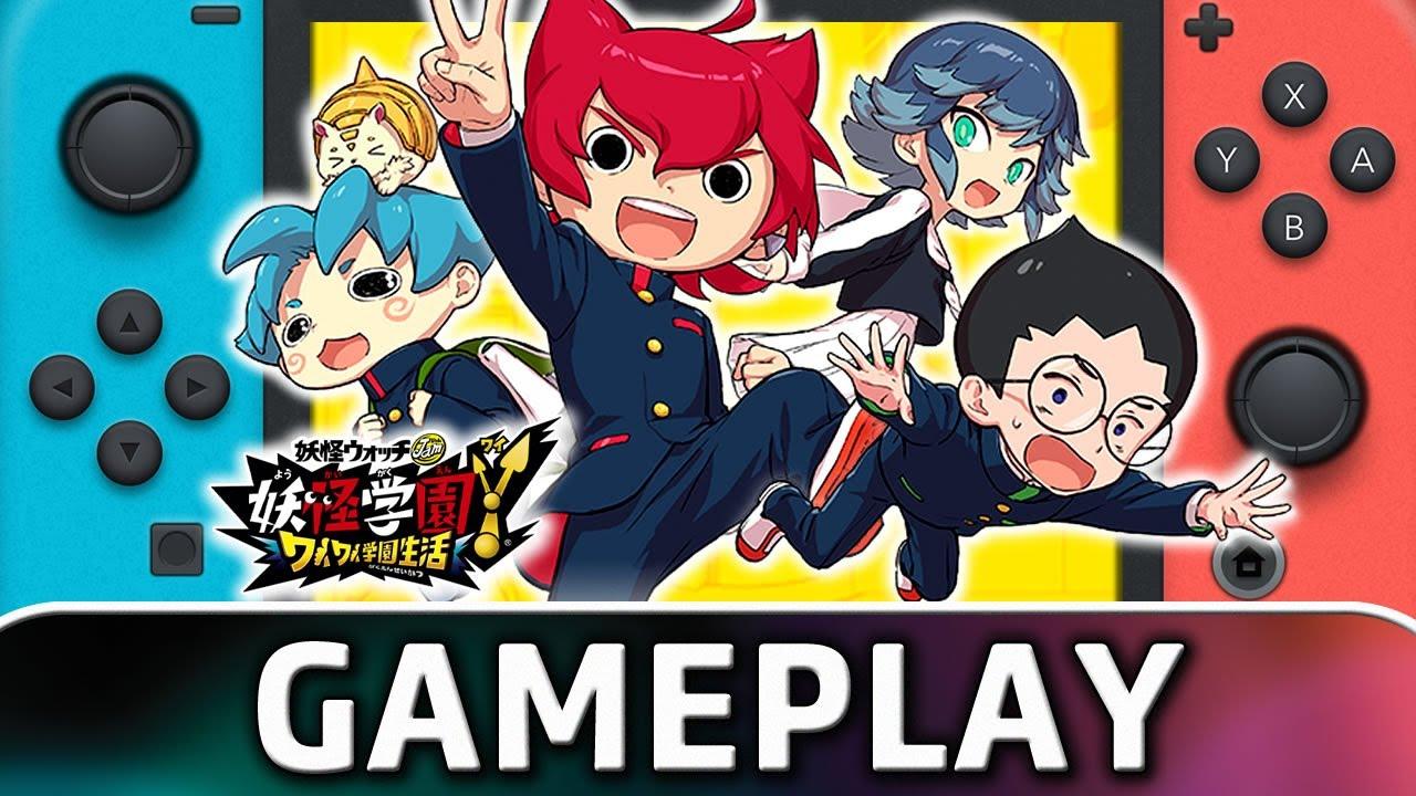 Yo-kai Watch Jam: Yo-kai Academy Y – Waiwai Gakuen Seikatsu   Nintendo Switch Gameplay