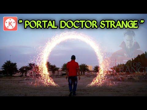 """Tutorial Kinemaster """" PORTAL DOCTOR STRANGE """""""