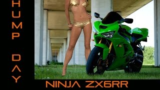 1. Hump Day ! 2004 ZX6RR Review, Nipple-itis!